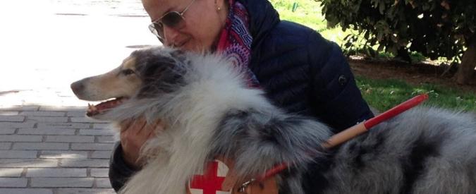 Bari, entra in chiesa col cane guida ma la suora li caccia fuori. Papa Francesco li riceve in Vaticano e li benedice
