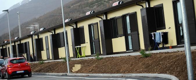 """Sisma Centro Italia, M5s: """"Casette per sfollati costate fino a 6.750 euro al mq"""""""