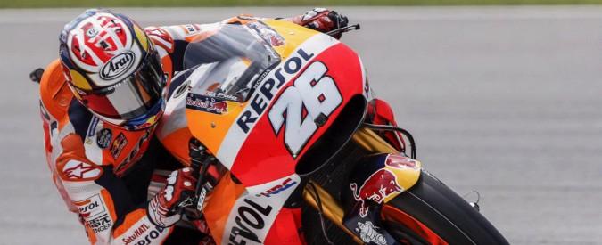 MotoGp, Dani Pedrosa partirà in pole in Malesia. Dovizioso terzo, Rossi è quarto