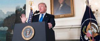 """Nucleare Iran, Trump riacutizza le crisi in M.O.: """"Peggio di Bush con Ahmadinejad"""""""