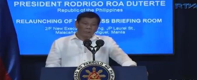 """Filippine, """"Duterte ha minacciato di cacciare gli ambasciatori degli Stati Ue"""""""