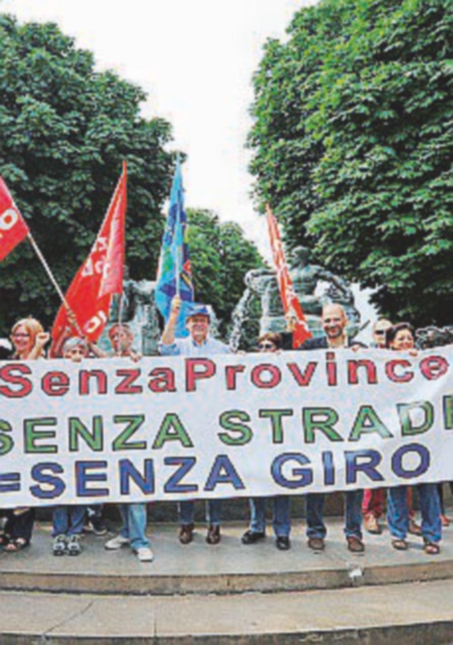 Province al collasso, oggi lo sciopero dei 20mila dipendenti