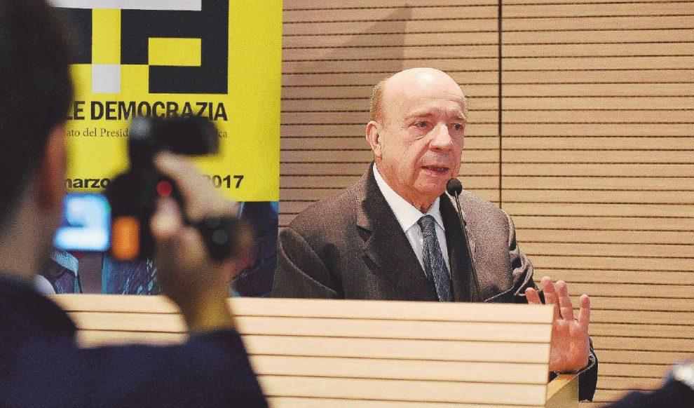 Giurista – Gustavo Zagrebelsky è stato uno dei principali oppositori della riforma Boschi – LaPresse