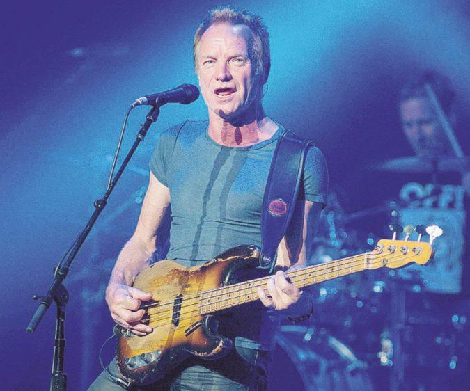 Sting, dopo la musica è ora di sfiorare il dito del Padreterno