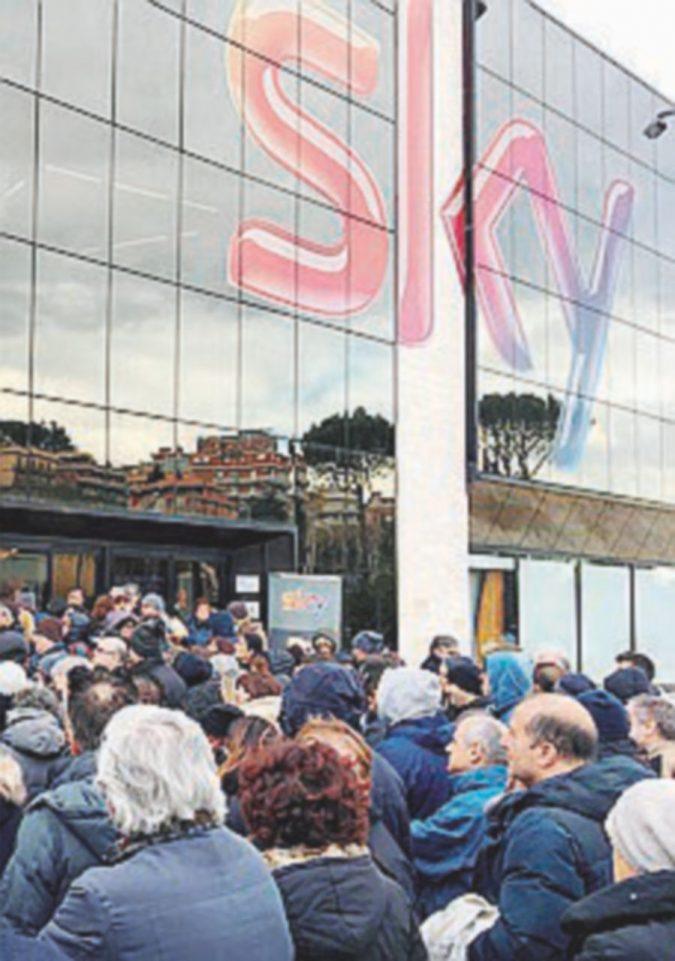 Licenziamenti Sky, sindacati annunciano lo sciopero a Roma