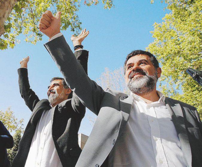 In carcere i secessionisti catalani