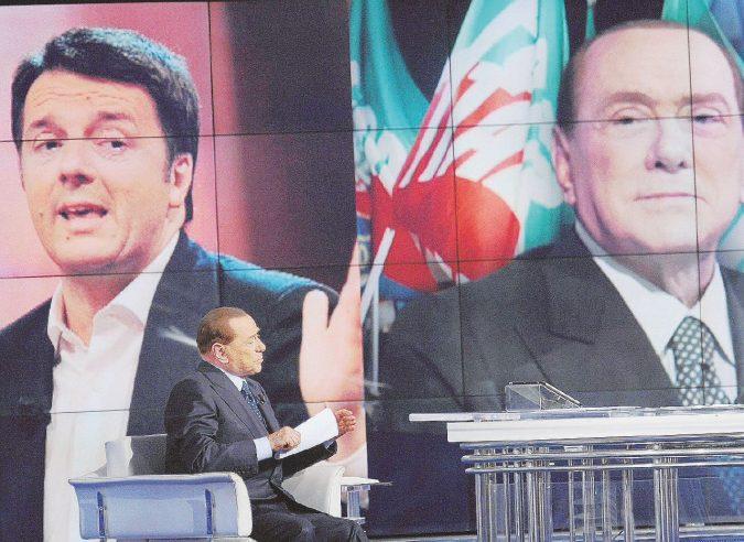 Telecom, la  preda per B. nelle larghe intese con Renzi
