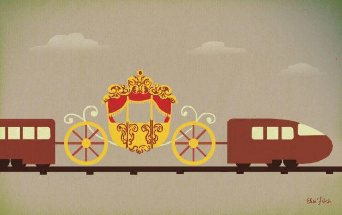Le ferrovie sono di destra. Ma in Italia è vietato dirlo