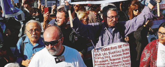 """Il """"desaparecido di Macrì"""" ucciso nelle terre dei Benetton"""