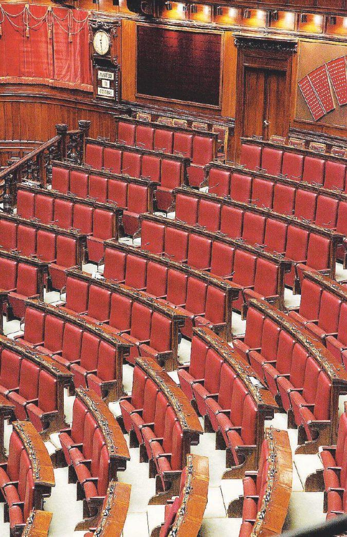 Il Parlamento si ferma per il referendum inutile