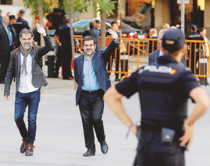 """La parabola dei Jordis, """"martiri"""" indipendentisti"""