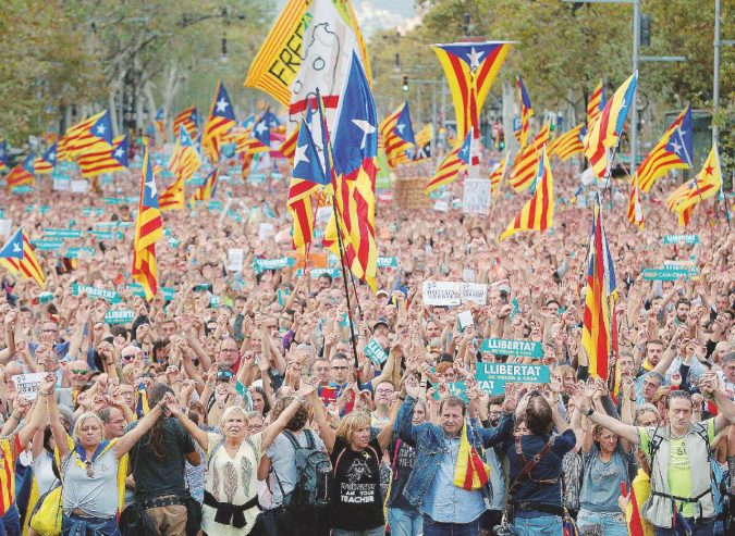 """Il colpetto di Stato di Rajoy """"Ma la nostra lotta continuerà"""""""