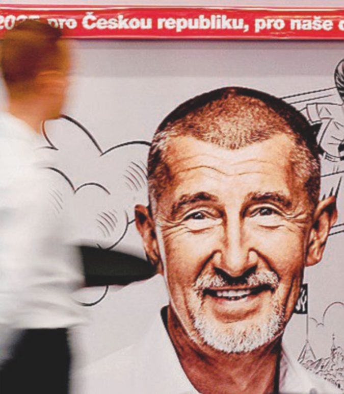 Gli scontenti e il miliardario re di Praga