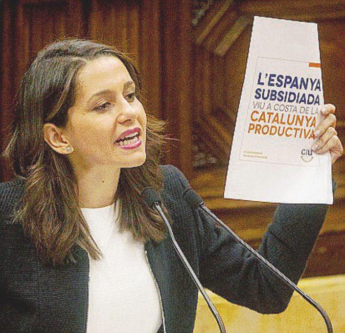 Bella e centrista: Inés, la pasionaria paladina degli anti-secessionisti