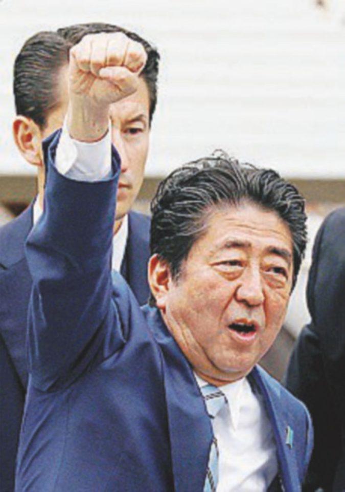 Elezioni, solo il tifone più forte del premier Abe