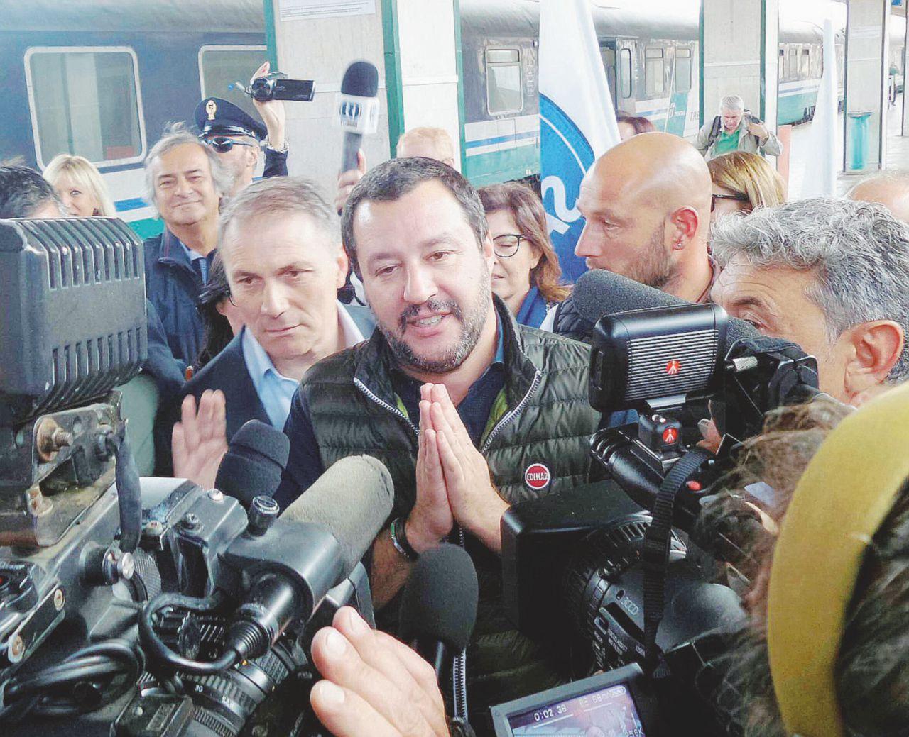 Regionali: comincia il tour di Salvini in Sicilia