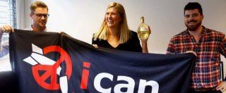Nobel per la Pace va all'Ican, campagna internazionale per l'abolizione delle armi nucleari