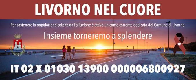 Alluvione Livorno, è gara di solidarietà: in poco più di un mese raccolti 95mila euro. Un contributo anche da Amatrice