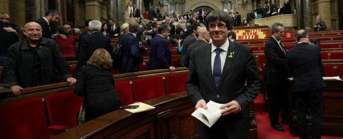 La Catalogna ha preferito andare allo scontro, ma ora si ritrova lacerata e sola