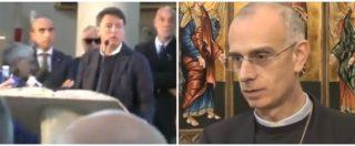 """Paestum, Renzi e il comizio-predica in chiesa. Cei: """"Non si può, neanche la Democrazia Cristiana lo faceva"""""""