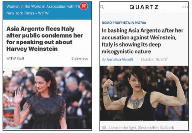 Facce da Weinstein: adesso per gli Usa i sessisti saremmo noi