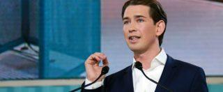Elezioni Austria, Kurz verso la cancelleria: il nuovo Macron tutto gel e nazionalismo che prepara l'alleanza con l'ultradestra