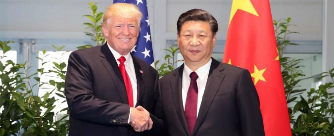 Usa-Cina, Trump a Pechino per nuovi accordi commerciali: più energia e meno hi-tech così da spingere l'occupazione