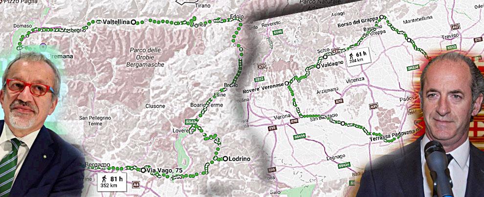 Referendum, l'idea autonomista separa di nuovo città e periferia: Zaia e Maroni fanno il pieno lontano dai capoluoghi