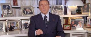 """Sicilia, appello al voto di Berlusconi: """"Votate Forza Italia"""" ma non nomina mai Musumeci. E si scaglia contro M5S: """"Incapaci"""""""