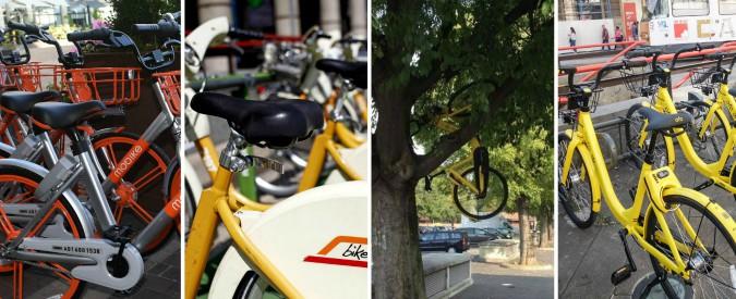 Milano capitale del bike sharing: dopo BikeMi ecco i cinesi di Ofo e Mobike, tra nuove opportunità e casi di vandalismo