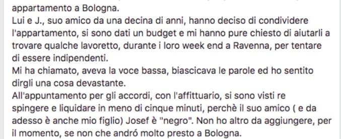 """Bologna, niente affitto allo studente nero: """"Hanno detto che è perché sono straniero. Ma sono italiano"""""""