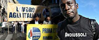 """Ius soli, il responsabile immigrazione dei sovranisti di Alemanno è africano: """"Serve percorso come il mio"""""""