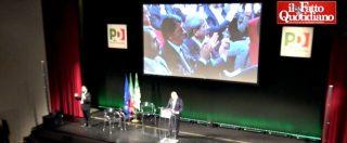 """Pd, compleanno amaro tra le bordate di Veltroni: """"Prodi il migliore…"""". E la faccia di Renzi in prima fila, che incassa"""