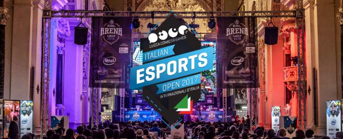 Gli Italian Esports Open 2017 di ESL al Lucca Comics & Games dall'1 al 5 novembre