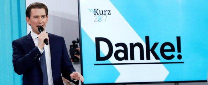 Elezioni Austria, con Kurz l'impero austroungarico è tornato