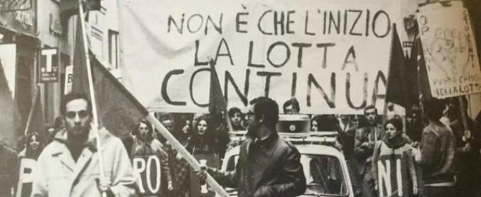 Αποτέλεσμα εικόνας για lotta continua anni '70