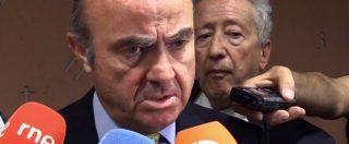 """Catalogna, Ministri spagnoli a Roma: """"Indipendenza? Il governo non la permetterà"""". """"Violenza? Casi isolati"""""""