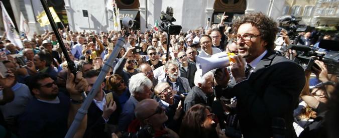 Rosatellum bis, la piazza e l'orgoglio di sentirsi cittadini
