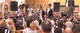 """Legge elettorale, M5s in piazza. Di Maio, Fico e Di Battista insieme: """"Non basterà a fermarci"""". E scatta la veglia notturna"""
