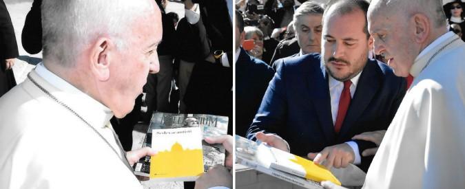 """FqMillenniuM, il numero sui """"nemici di Papa Francesco"""" nelle mani di Bergoglio"""
