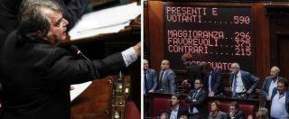 """Legge elettorale, la Camera approva il Rosatellum con 375 sì. Testo di corsa al Senato. C'è anche il """"salva Verdini"""""""