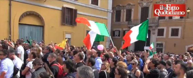 Legge elettorale, dal M5s ai bersaniani fino a Sinistra Italiana: le opposizioni in piazza contro il Rosatellum 2.0