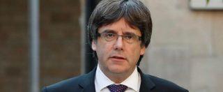 """Spagna, Puigdemont: """"No elezioni perché il governo di Madrid non dà garanzie. Commissariamento Catalogna ingiusto"""""""