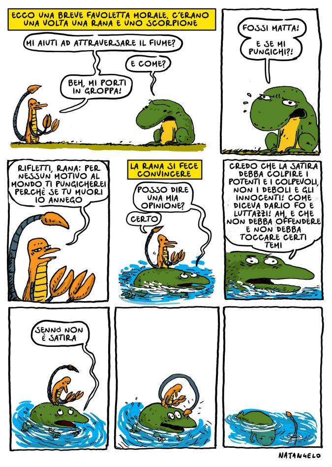 La rana e lo scorpione