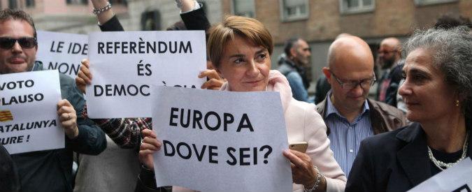 Referendum Catalogna, come l'Europa gestisce due nazionalismi sordi