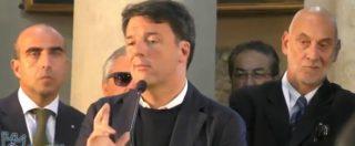 Paestum, Renzi diventa don Matteo. Ecco il video della predica-comizio dall'altare della basilica