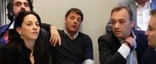 """Treno Pd, Renzi: """"Contestazioni? Quattro grillini"""" poi sfotte Di Maio. E Richetti difende il Rosatellum"""