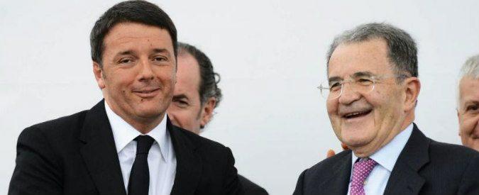 Matteo Renzi vs Romano Prodi: scrittori a confronto su sfiducia, economia e politica