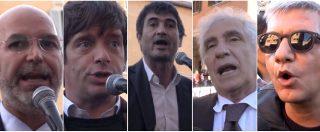 """Rosatellum, in piazza sinistra e grillini insieme. Mineo: """"Così trasformeranno il M5s da primo partito a terzo incomodo"""""""
