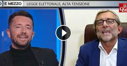 """Legge elettorale, Scanzi vs Giachetti (Pd): """"Perché citi sempre M5s? Stai parlando con me, non con Di Maio. Telefonagli"""""""